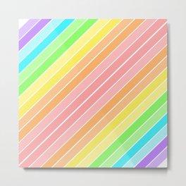Rainbow Sherbert 1 Metal Print