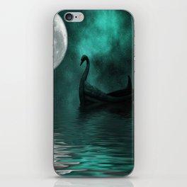 Solar Swan iPhone Skin