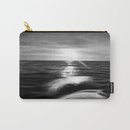 B&W Surfer's Sunset Carry-All Pouch