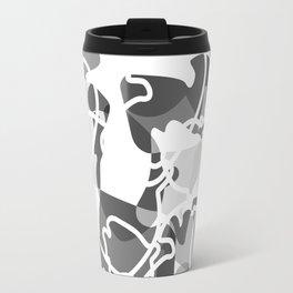 Geometric pattern (B&W) Travel Mug