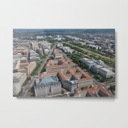 Federal Triangle Washington D.C. Metal Print