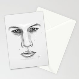 Kylo Ren/Adam Driver Portrait Stationery Cards