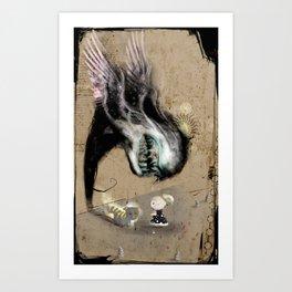 Fishing Hook Art Print
