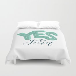 Yes, you can Duvet Cover
