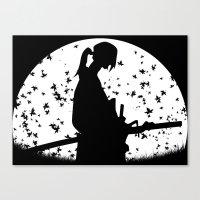 samurai champloo Canvas Prints featuring Jin - Samurai Champloo by Proxish Designs