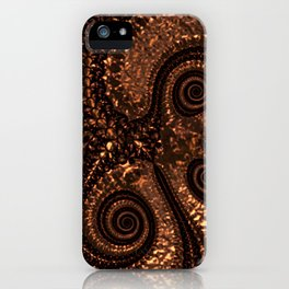 Textured Hammered Copper iPhone Case