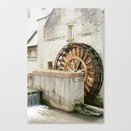France on Film Canvas Print