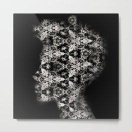 Portrait of boy X Metal Print