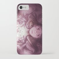 beauty and the beast iPhone & iPod Cases featuring Beauty / Beast by Nilah Magruder