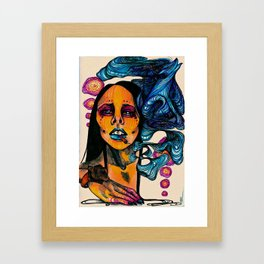 Culture Fuck Framed Art Print