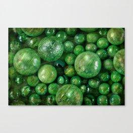 Greenballs Canvas Print