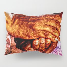 We Are All Humans  Pillow Sham