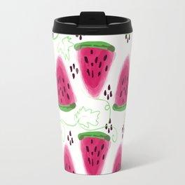 Watermelon pattern. Travel Mug