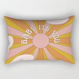 Baby its you Rectangular Pillow