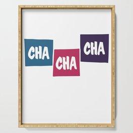 Cha Cha Cha Serving Tray