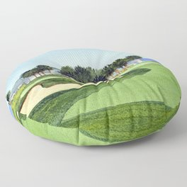 The Dunes Golf Club Myrtle Beach South Carolina Floor Pillow
