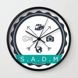 Sourires autour du monde directions Wall Clock