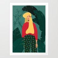 somewhere@ Art Print