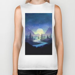 Touching the Stars Biker Tank