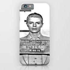 Bowie, David Mugshot (1976) Rochester, N.Y. iPhone 6s Slim Case