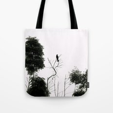 Black Bird Tote Bag