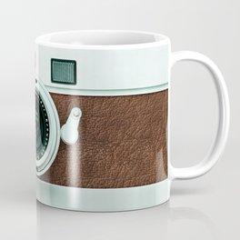 Retro vintage leather camera Coffee Mug
