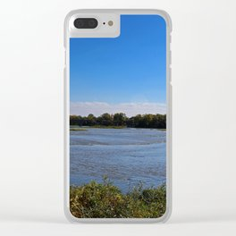 Time Flies Clear iPhone Case