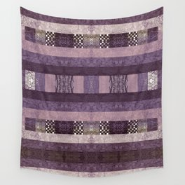 Quilt Top - Antique Twist Wall Tapestry