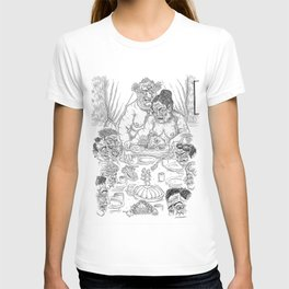 The Defamation of Normal Rockwell III (NSFW) T-shirt