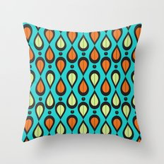 Dance With Me Mid-Century Modern Design Throw Pillow