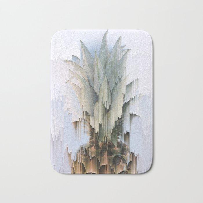 Glitch Pineapple Bath Mat