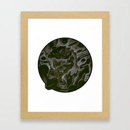 Golden Toad V.3 Framed Art Print