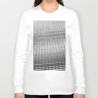 gray pattern Long Sleeve T-shirts featuring Gray Pattern by theGalary