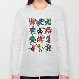 Keith Superheroes Long Sleeve T-shirt