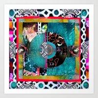 Water Boogie Mandala Art Print