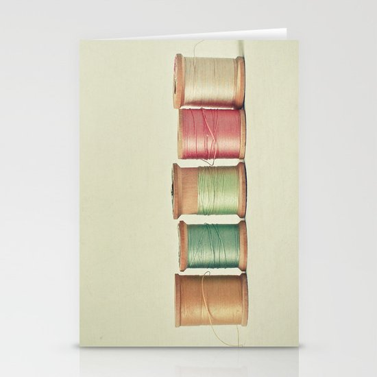 Five in a Row Stationery Cards