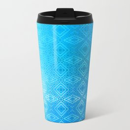 Diamonds Going On Forever (sky blue) Travel Mug