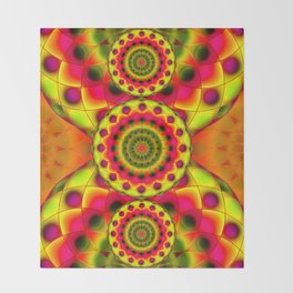 Psychedelic Visions G144 Throw Blanket
