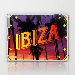 Ibiza, summer sunset, circle Laptop & iPad Skin