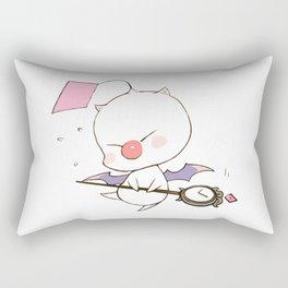 Struggling Mog Rectangular Pillow