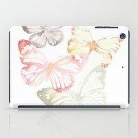 butterflies iPad Cases featuring Butterflies by Aline Souza de Souza