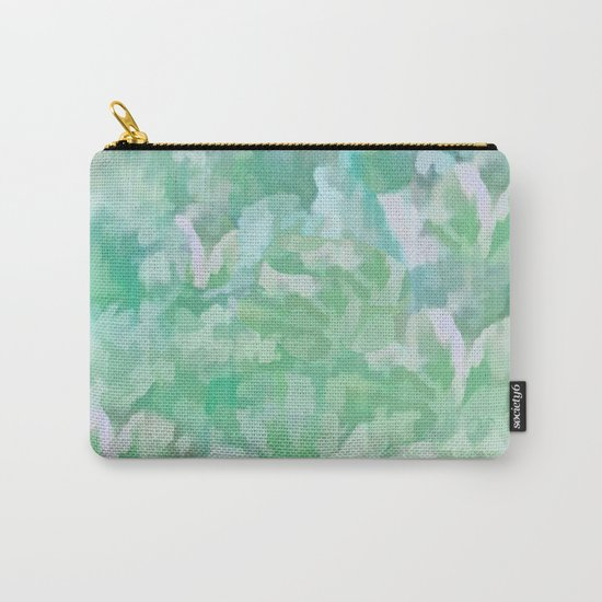Summer Green Carry-All Pouch