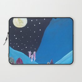 Winter Night Laptop Sleeve
