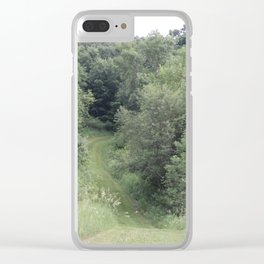 Endless Green of the Midwest Clear iPhone Case