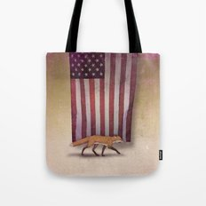the Fox & the Flag Tote Bag