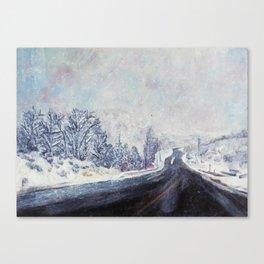 Wasatch Canvas Print
