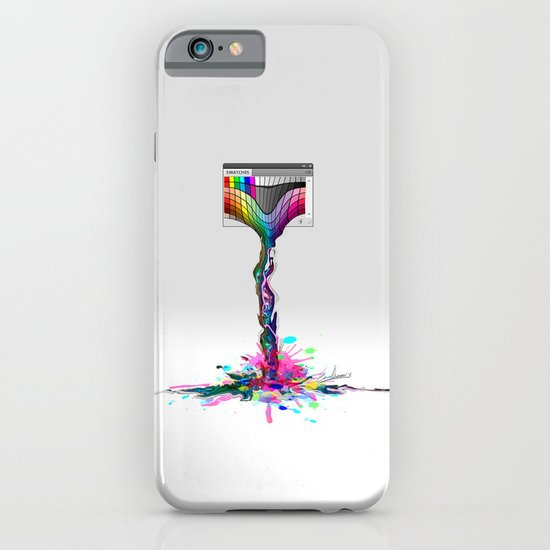 No more paintings, Photoshop it's broken! iPhone & iPod Case