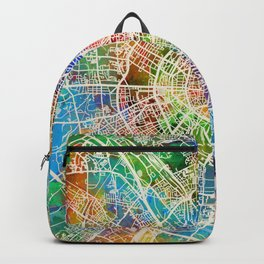 Cologne Germany City Map Backpack
