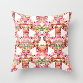 Bright Fern  Throw Pillow