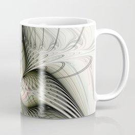 Flying, Abstract Fractal Art Fantasy Coffee Mug